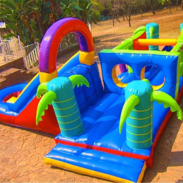 Adventure Island 8mx6.5 Daily R680, 2 day hire R780. Incl. delivery & collection*. Available in two sizes, 8.5m x 6.5m and 7m x 6.5m.