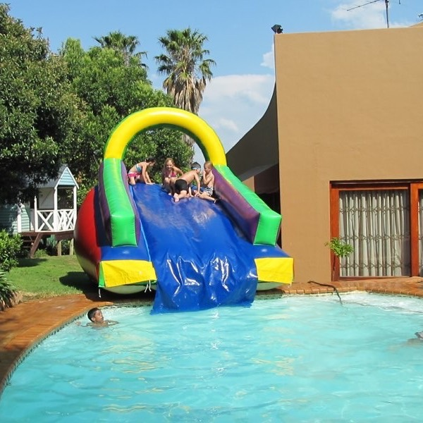 Inflatable Water Slide Pool Bouncy Castle: Jumping Castles & Prices